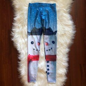 "Like New Terez ""Build a Snowman"" leggings: YM"